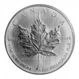 Canadian Palladium Maple Leaf 1 oz