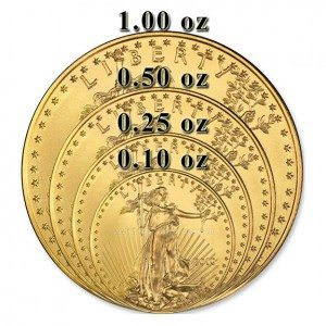 American Gold Eagle 1/10 oz