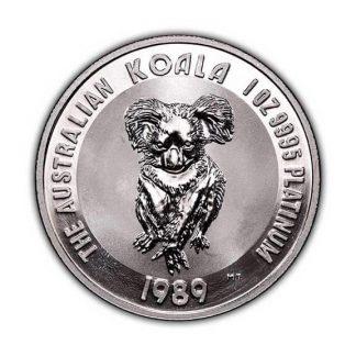 Australian Platinum Koala 1 oz