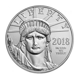 American Platinum Eagle 1 oz 2018