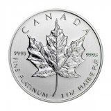 Canadian Platinum Maple Leaf 1 oz