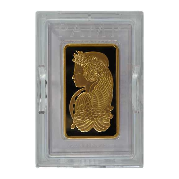 PAMP Suisse Gold Bar 10 oz
