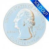 America the Beautiful 5 oz silver coin