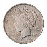 Peace Silver Dollar Circulated