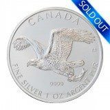 Canadian Silver Bald Eagle 1 oz