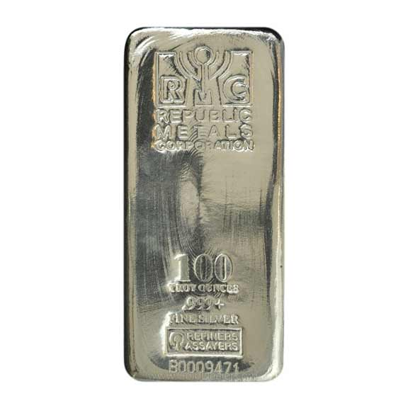 RMC 100 oz Silver Bar