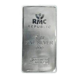 10 oz Silver RMC Bar