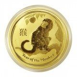 Australian Gold Lunar Monkey 1 oz Series 2