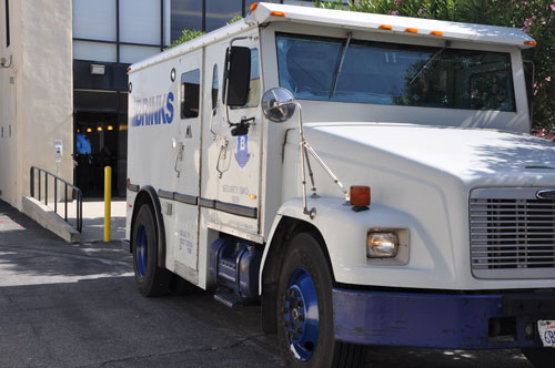Brinks Delivery